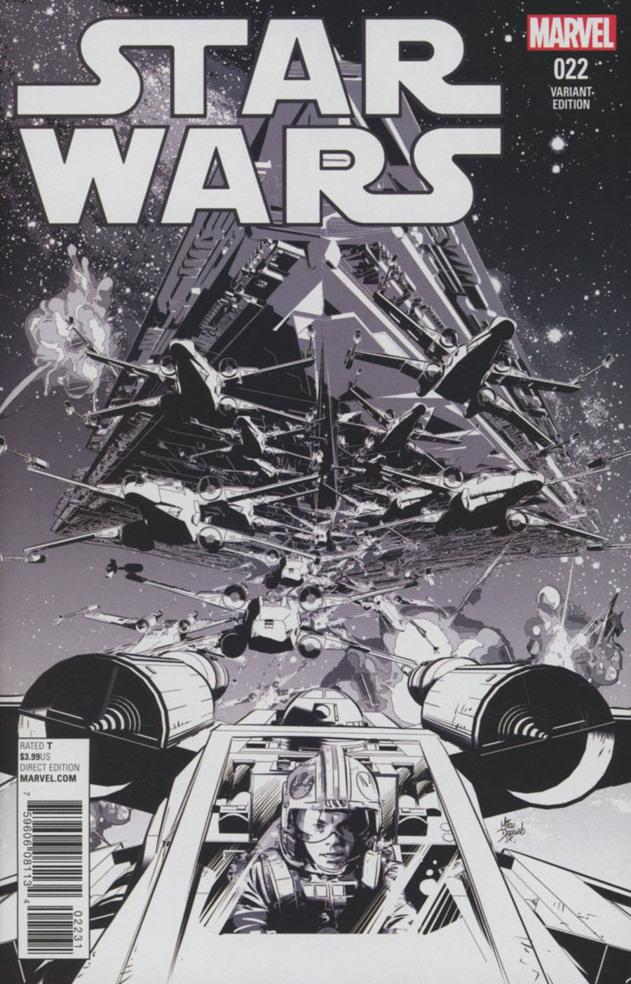Star Wars Vol 4 #22 Cover C Incentive Mike Deodato Jr Sketch Cover