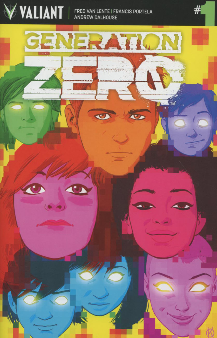 Generation Zero #1 Cover F Incentive Kano Variant Cover