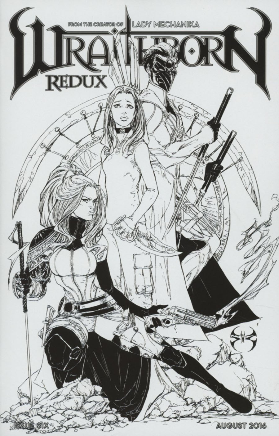 Wraithborn Redux #6 Cover C Incentive Joe Benitez Variant Cover