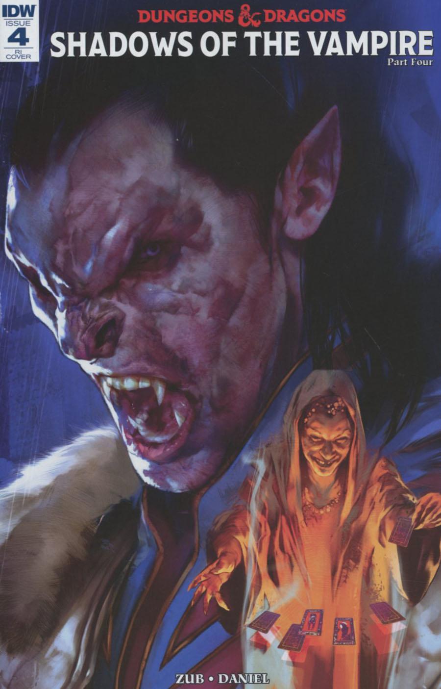Dungeons & Dragons Vol 2 #4 Cover C Incentive Ravenloft Art Variant Cover