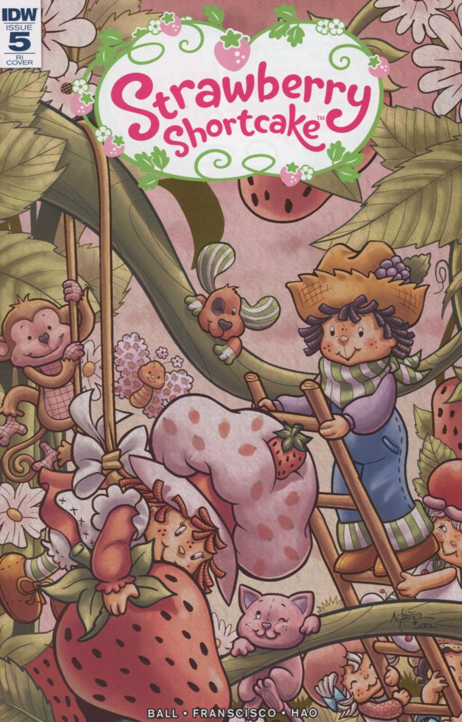 Strawberry Shortcake Vol 3 #5 Cover D Incentive Nico Pena Variant Cover