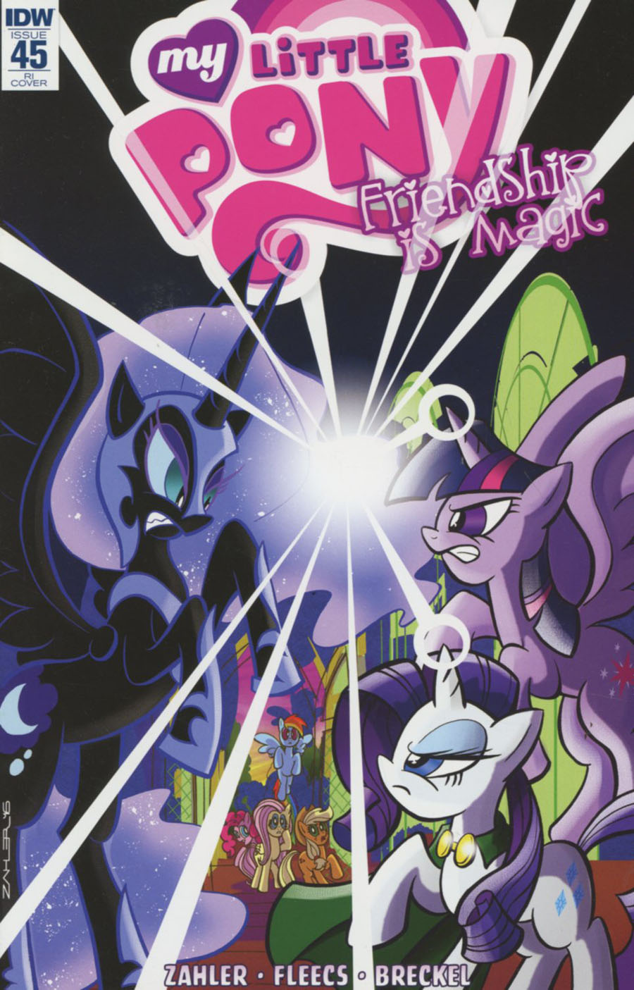 My Little Pony Friendship Is Magic #45 Cover C Incentive Thom Zahler Variant Cover