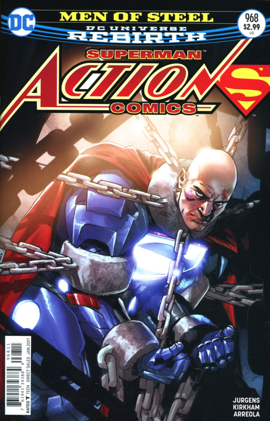 Action Comics Vol 2 #968 Cover A Regular Clay Mann Cover