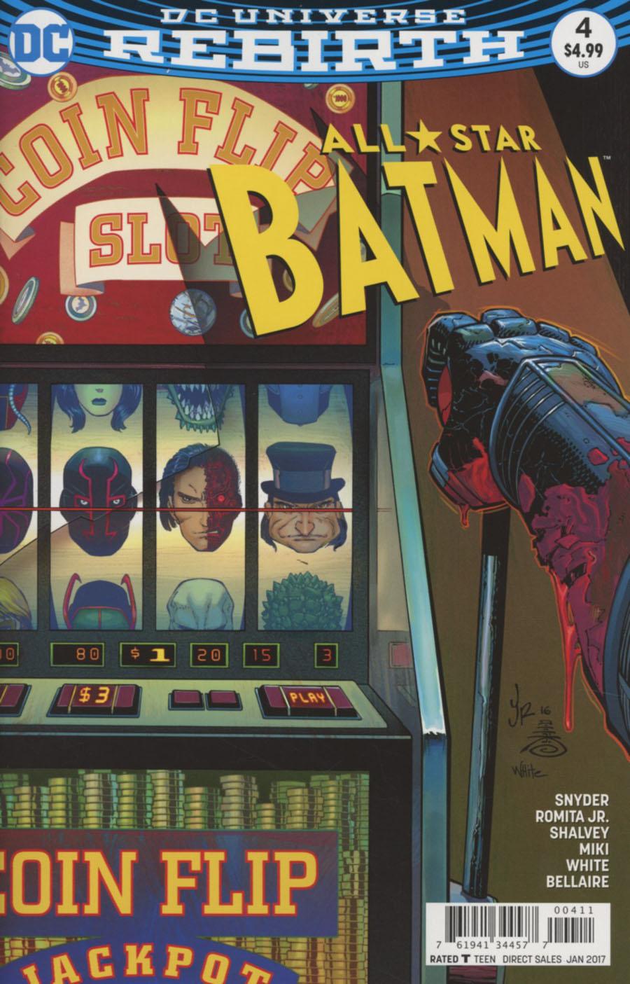 All-Star Batman #4 Cover A Regular John Romita Jr Cover