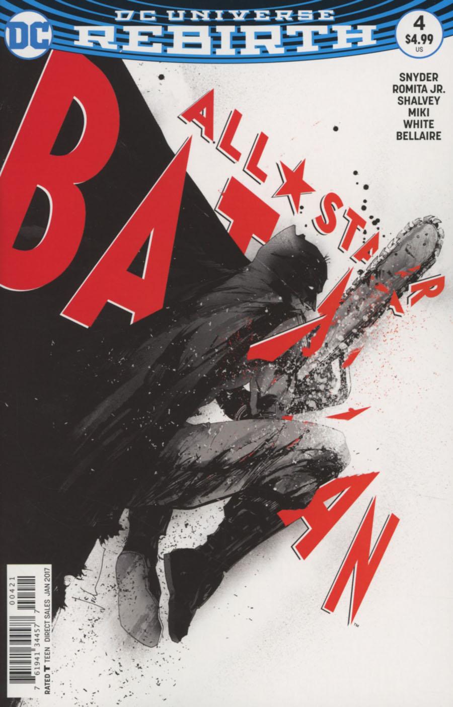 All-Star Batman #4 Cover B Variant Jock Cover