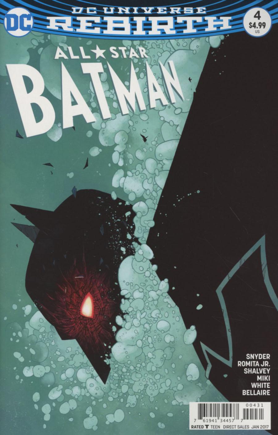 All-Star Batman #4 Cover C Variant Declan Shalvey Cover