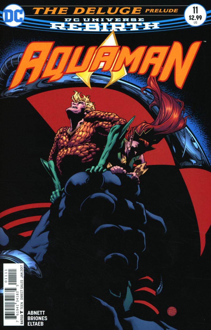 Aquaman Vol 6 #11 Cover A Regular Brad Walker & Andrew Hennessey Cover