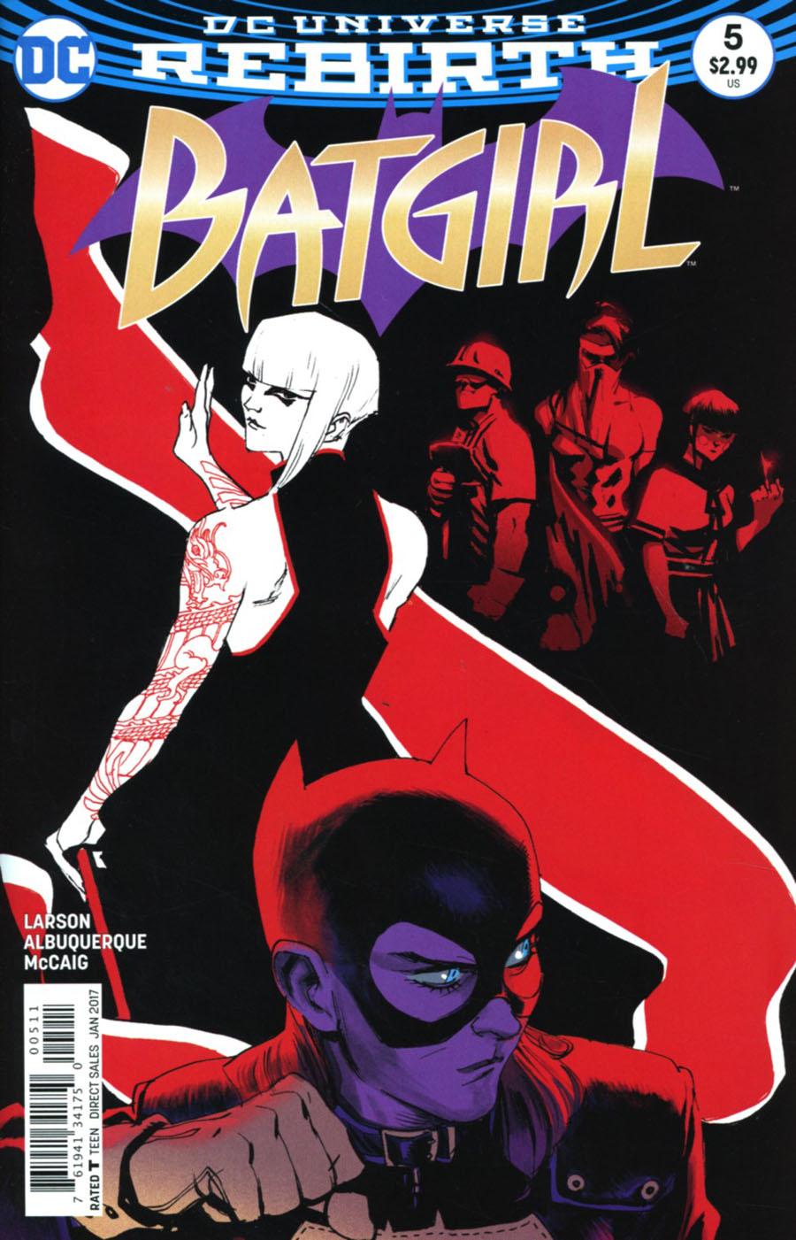 Batgirl Vol 5 #5 Cover A Regular Rafael Albuquerque Cover