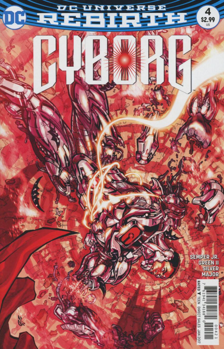 Cyborg Vol 2 #4 Cover B Variant Carlos DAnda Cover