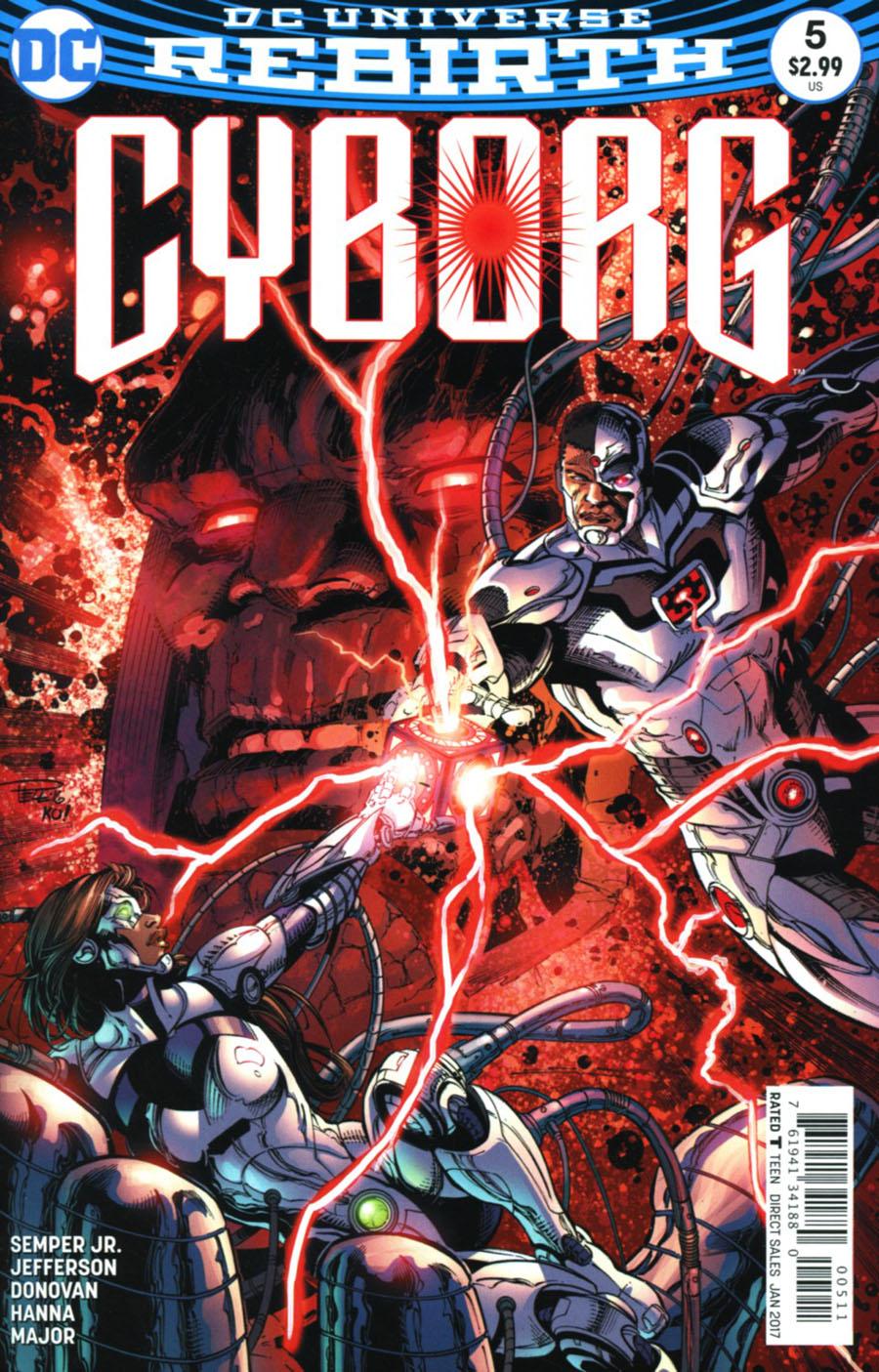 Cyborg Vol 2 #5 Cover A Regular Paul Pelletier & Tony Kordos Cover