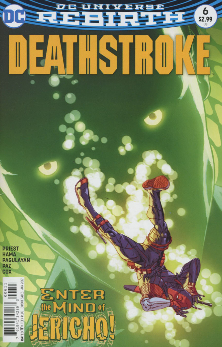 Deathstroke Vol 4 #6 Cover A Regular Aco Cover