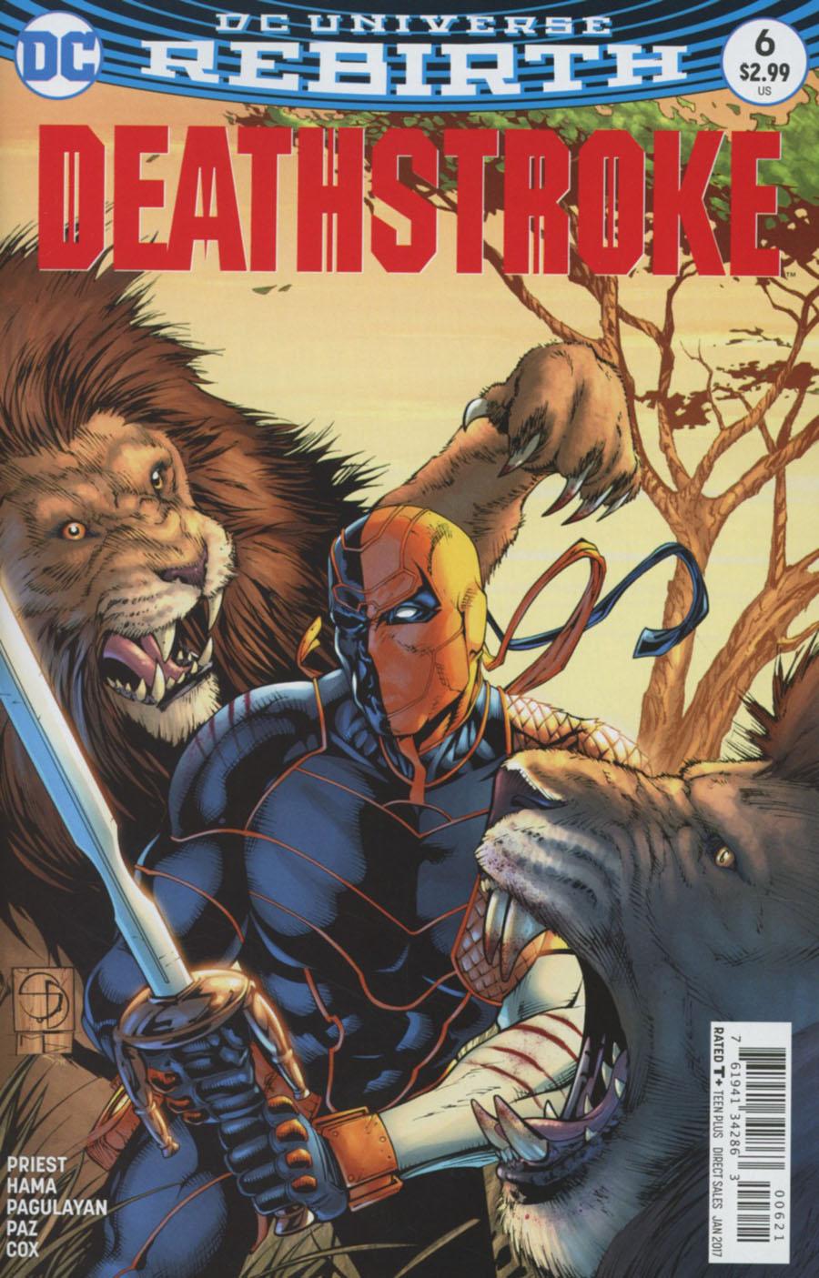 Deathstroke Vol 4 #6 Cover B Variant Shane Davis Cover
