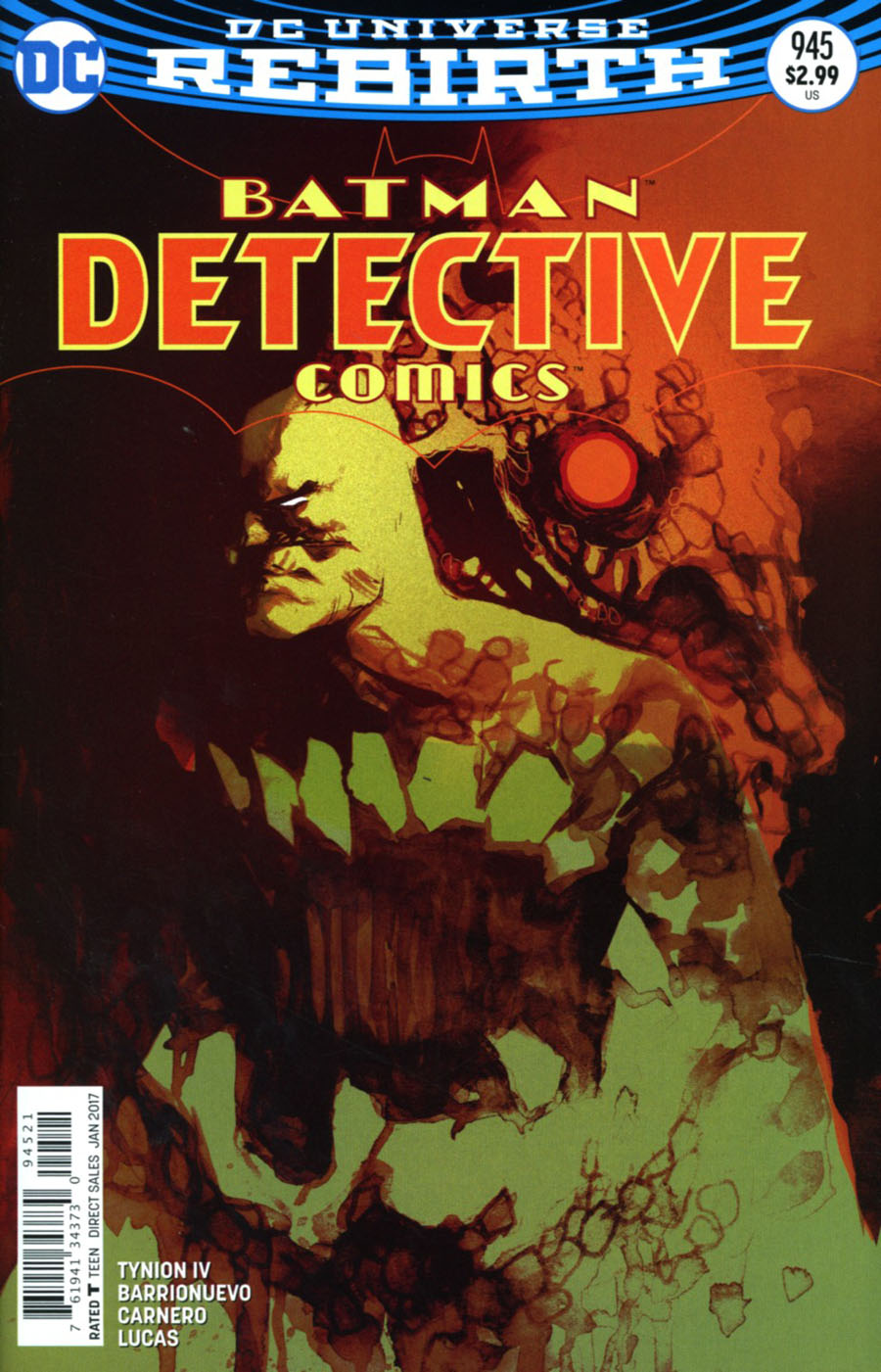 Detective Comics Vol 2 #945 Cover B Variant Rafael Albuquerque Cover
