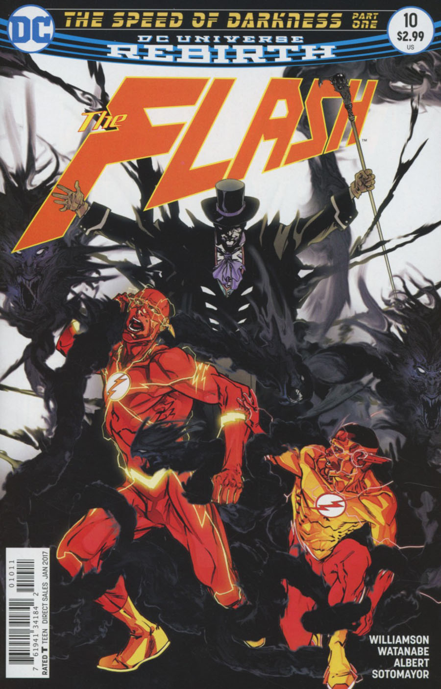 Flash Vol 5 #10 Cover A Regular Carmine Di Giandomenico Cover
