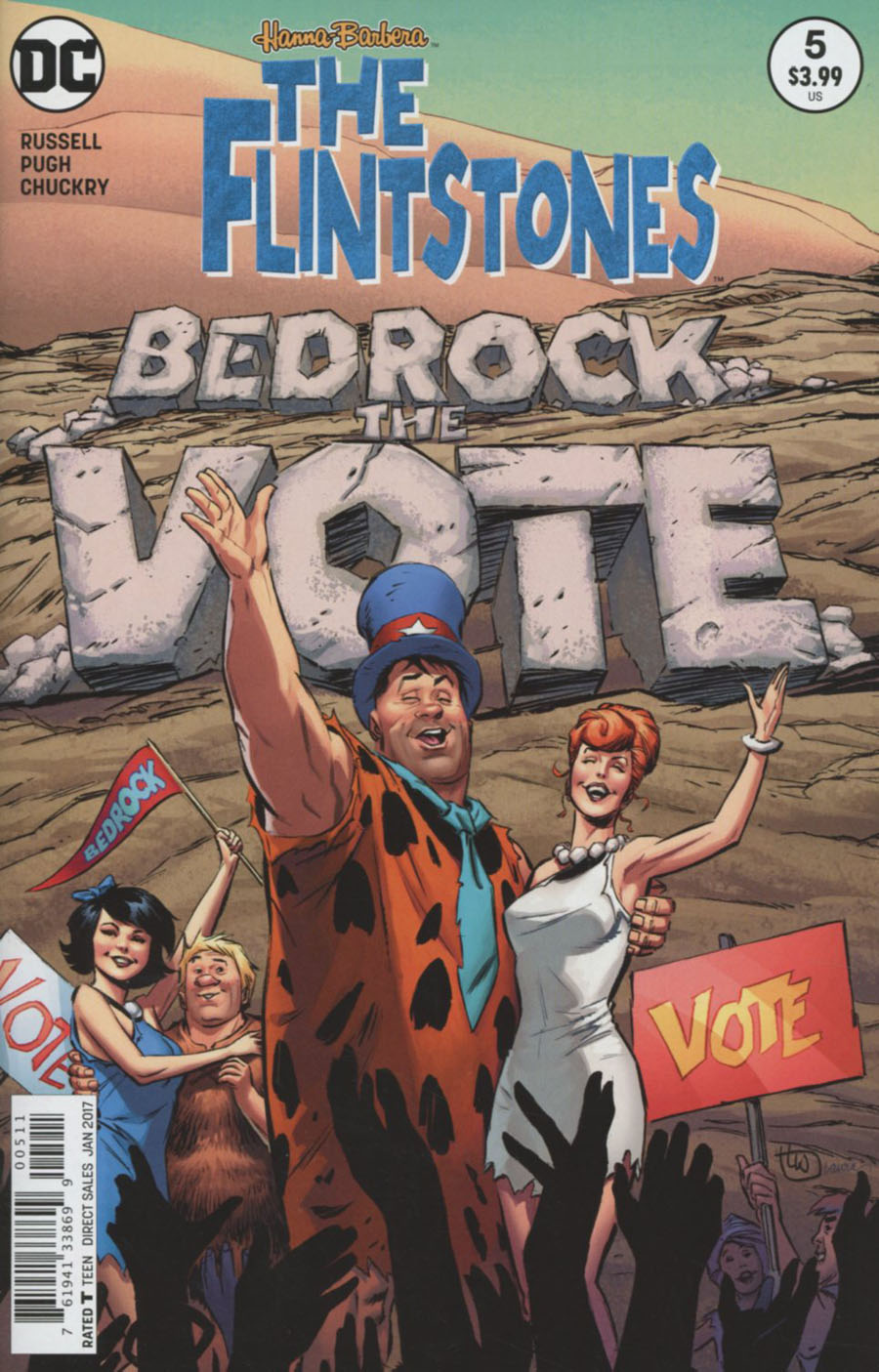 Flintstones (DC) #5 Cover A Regular Lee Weeks Cover