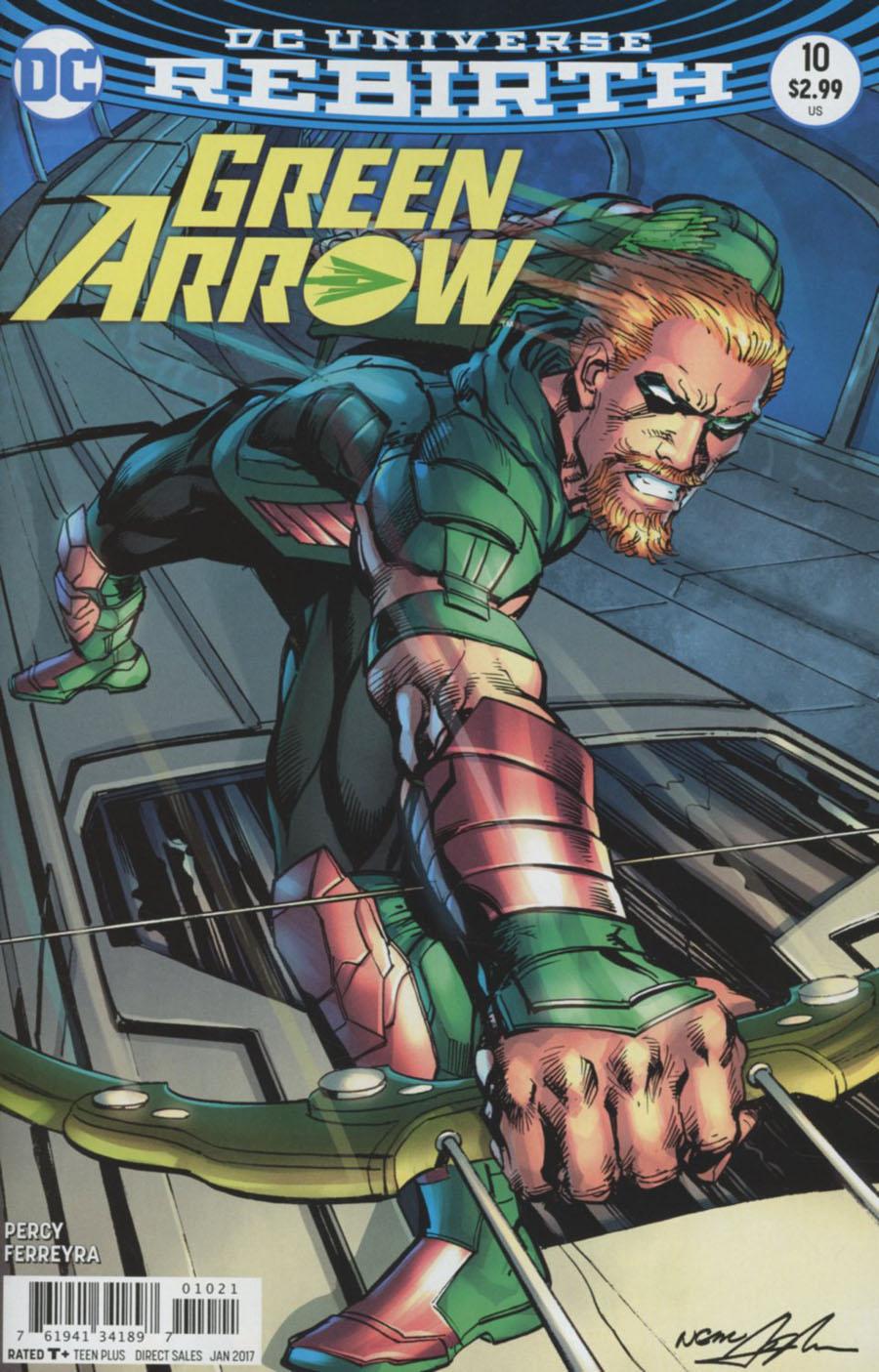 Green Arrow Vol 7 #10 Cover B Variant Neal Adams Cover