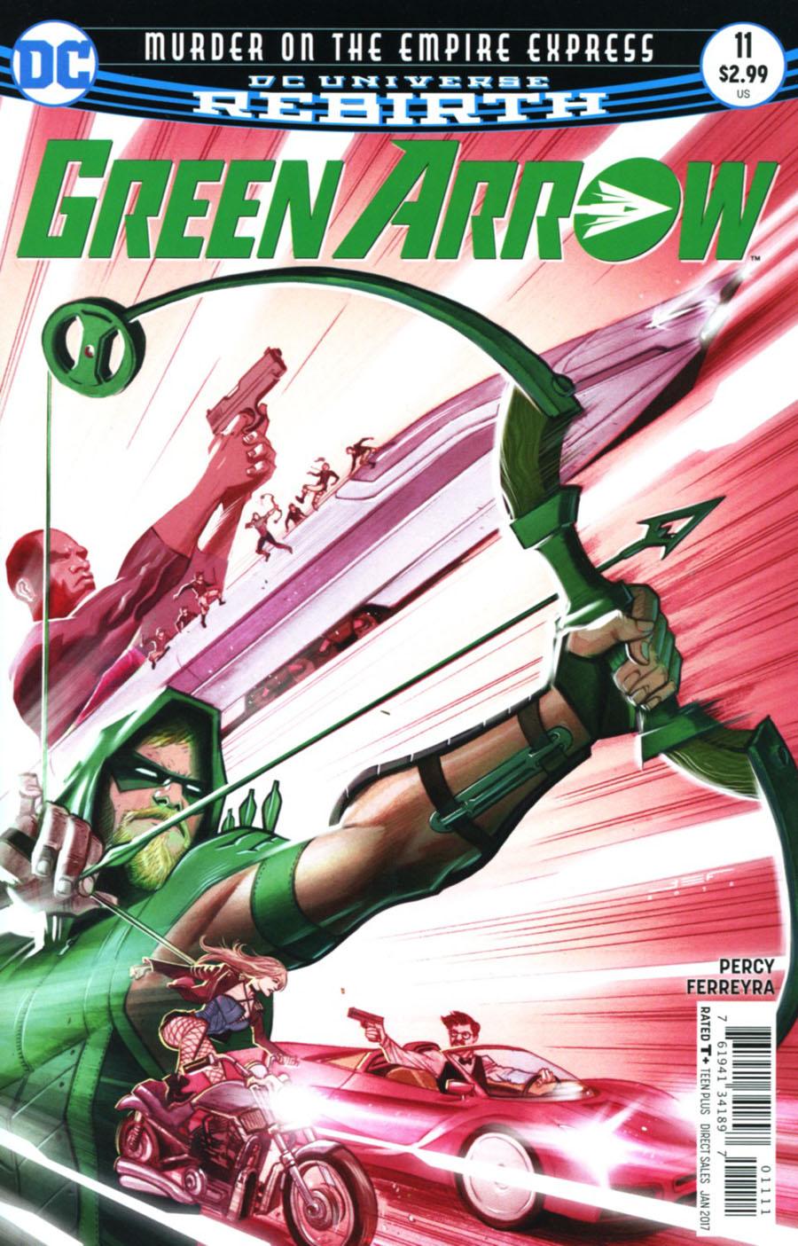 Green Arrow Vol 7 #11 Cover A Regular Juan Ferreyra Cover