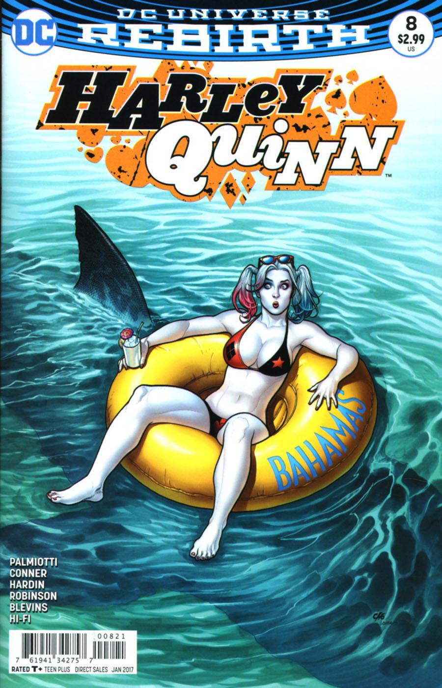 Harley Quinn Vol 3 #8 Cover B Variant Frank Cho Cover