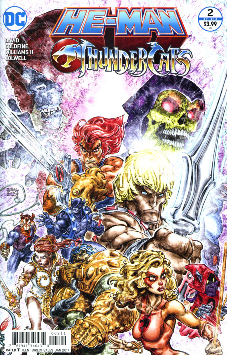 He-Man Thundercats #2