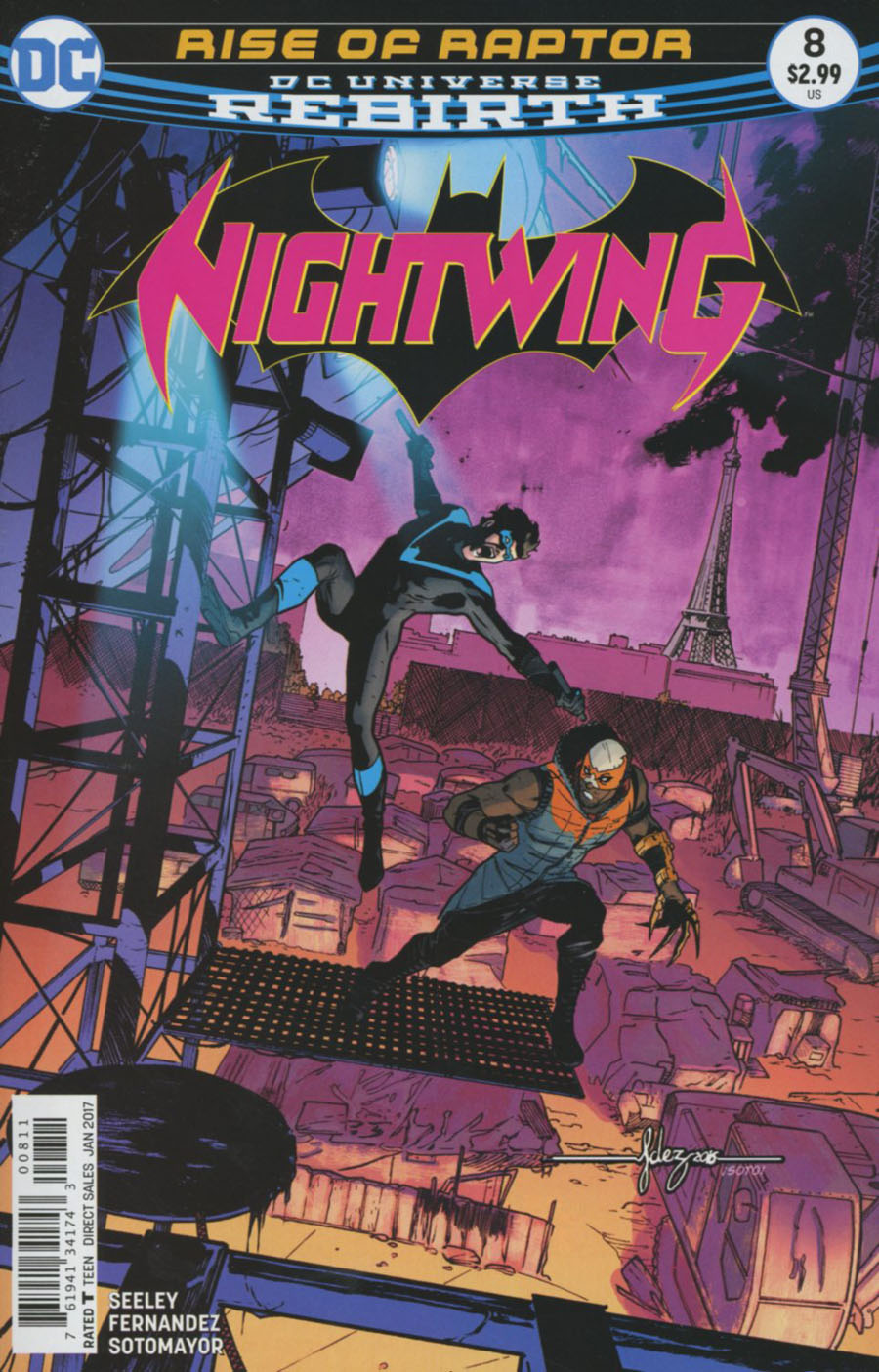 Nightwing Vol 4 #8 Cover A Regular Javier Fernandez Cover