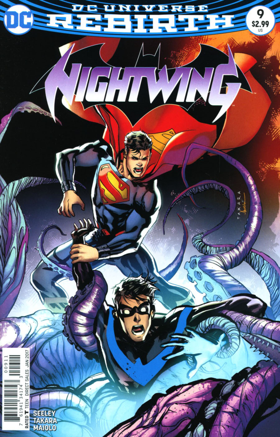 Nightwing Vol 4 #9 Cover A Regular Marcio Takara Cover