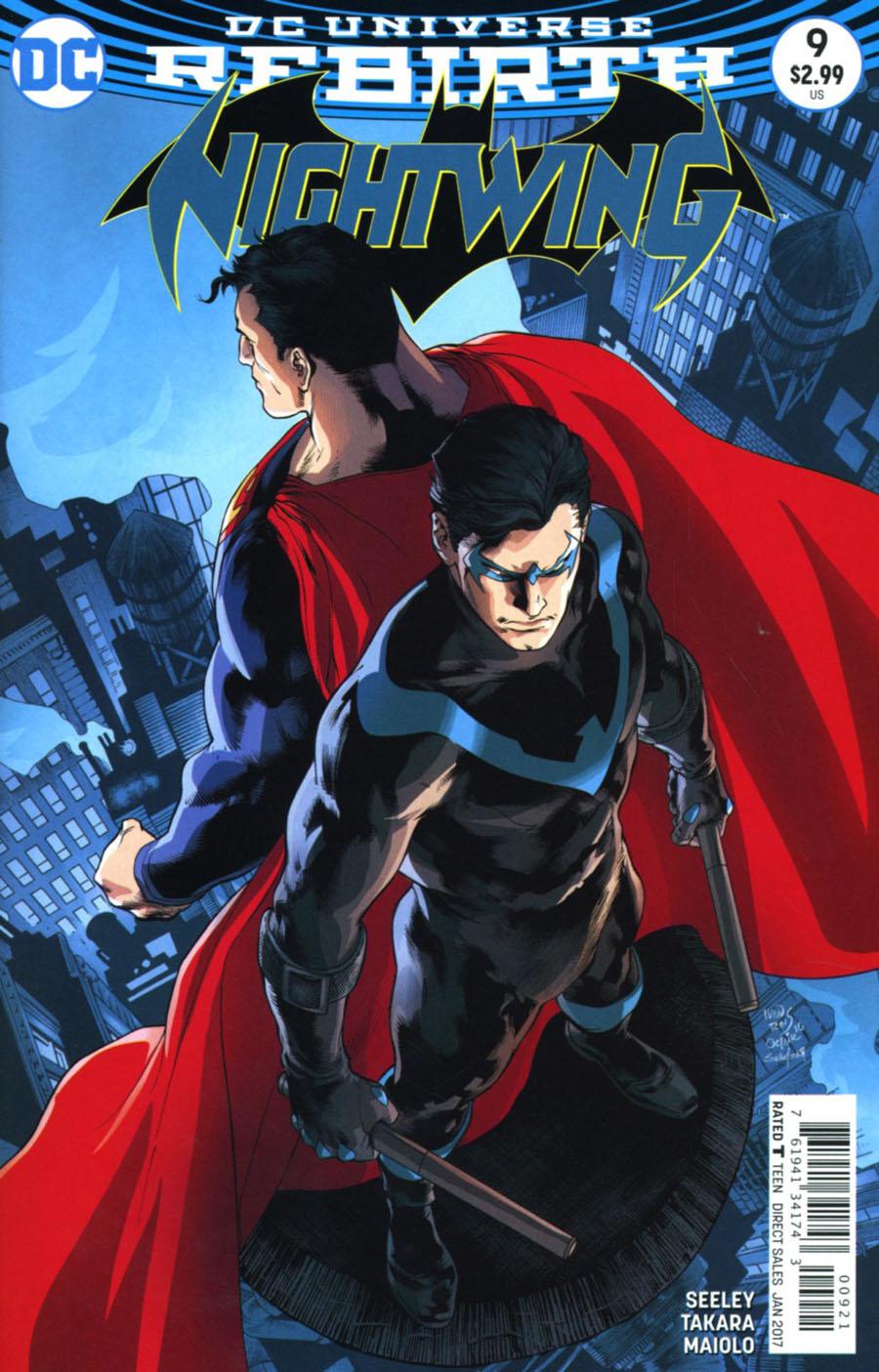 Nightwing Vol 4 #9 Cover B Variant Ivan Reis & Joe Prado Cover