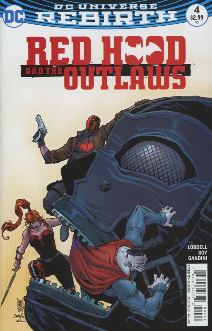 Red Hood And The Outlaws Vol 2 #4 Cover A Regular Giuseppe Camuncoli & Cam Smith Cover