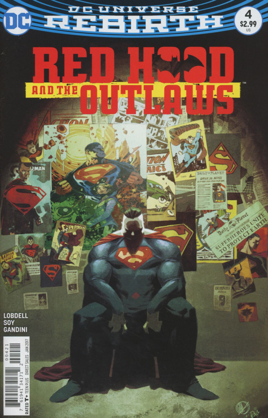 Red Hood And The Outlaws Vol 2 #4 Cover B Variant Matteo Scalera Cover