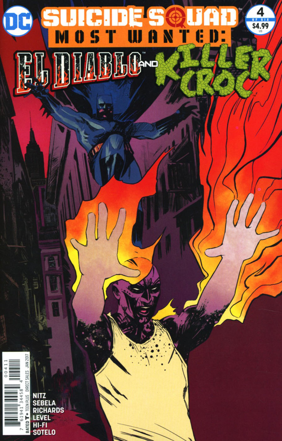 Suicide Squad Most Wanted El Diablo & Killer Croc #4