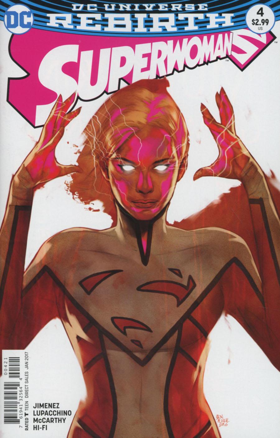 Superwoman #4 Cover B Variant Ben Oliver Cover