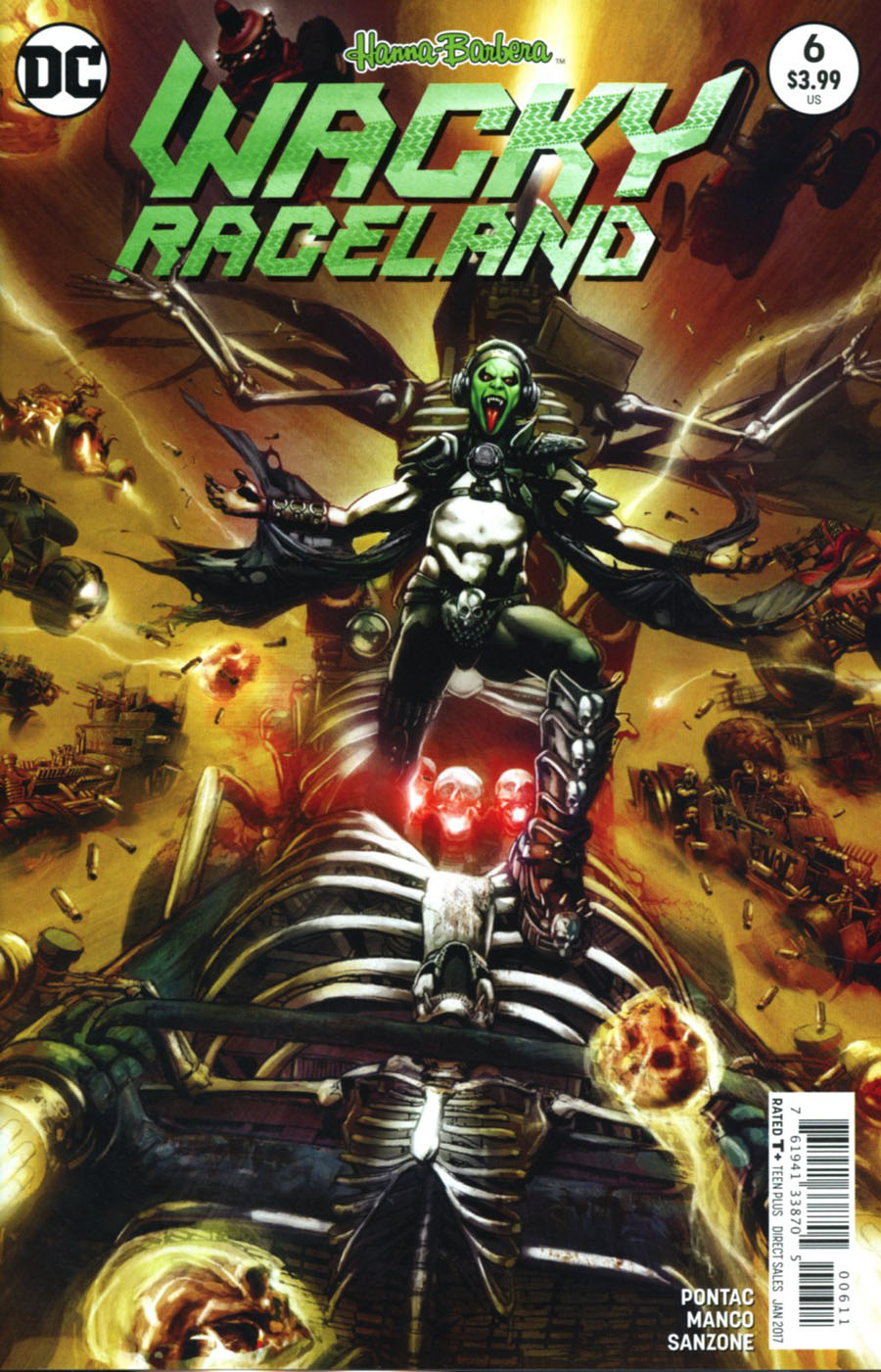 Wacky Raceland #6 Cover A Regular Leonardo Manco Cover