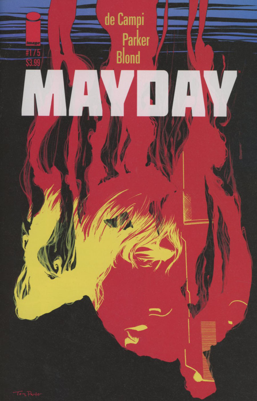 Mayday #1 Cover B Variant Tony Parker Cover