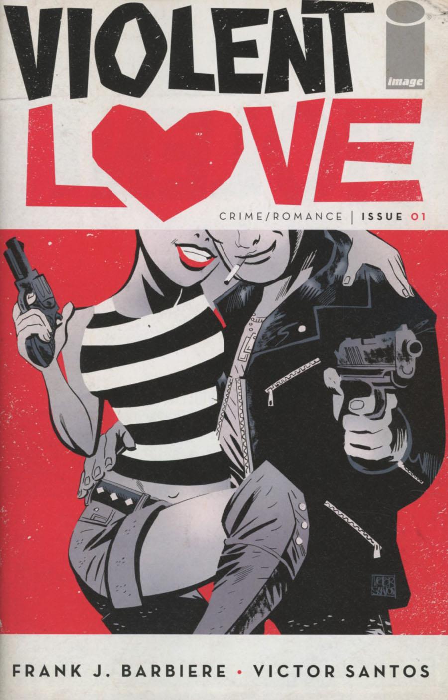 Violent Love #1 Cover A 1st Ptg Regular Victor Santos Cover