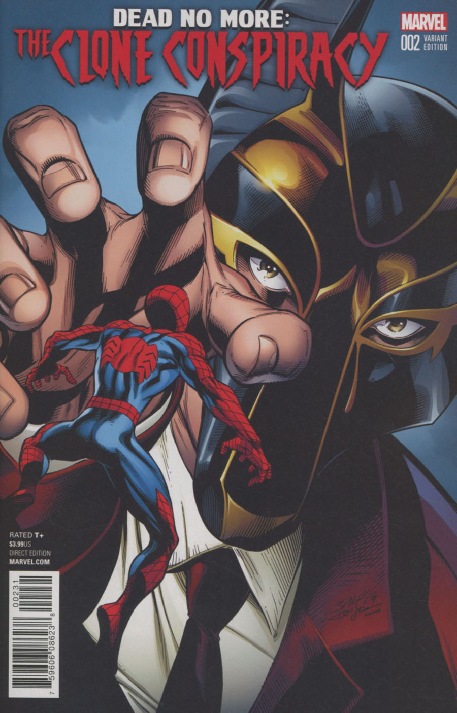 Clone Conspiracy #2 Cover C Variant Mark Bagley Cover