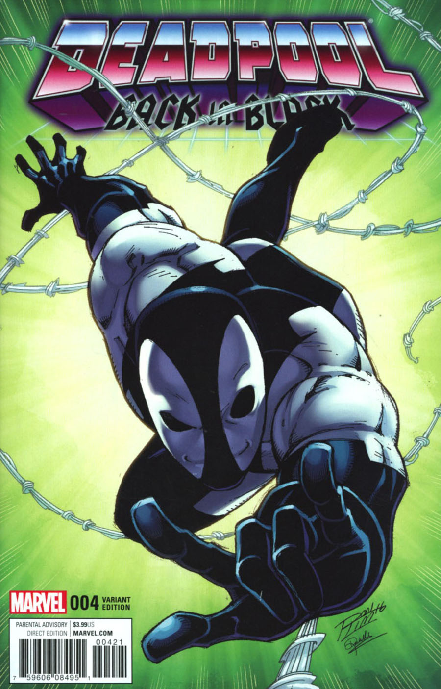 Deadpool Back In Black #4 Cover B Variant Ron Lim Cover