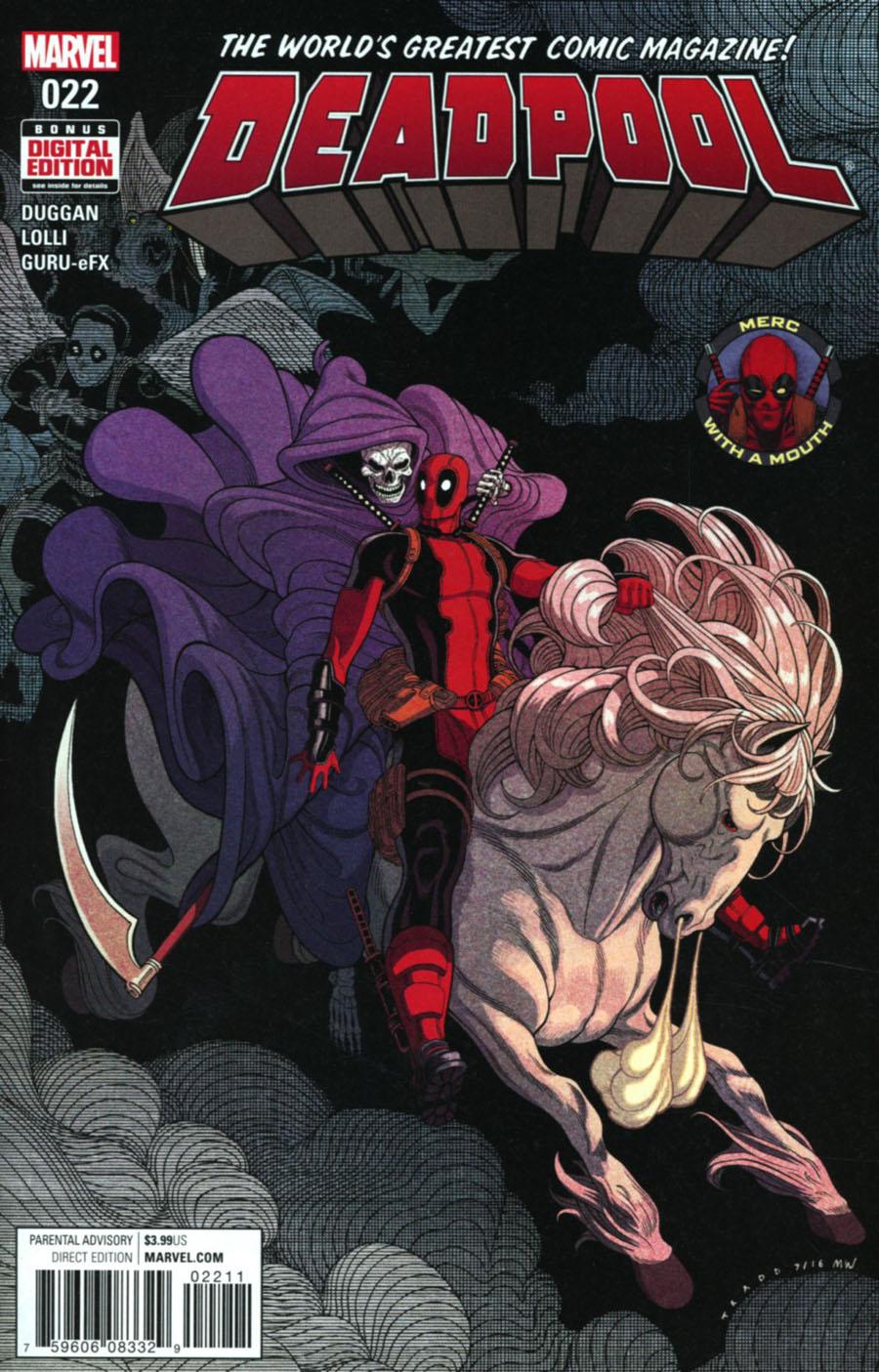 Deadpool Vol 5 #22