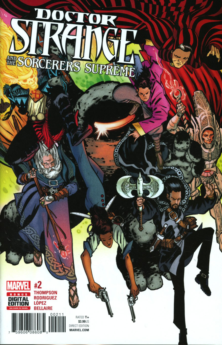 Doctor Strange And The Sorcerers Supreme #2 Cover A Regular Javier Rodriguez Cover