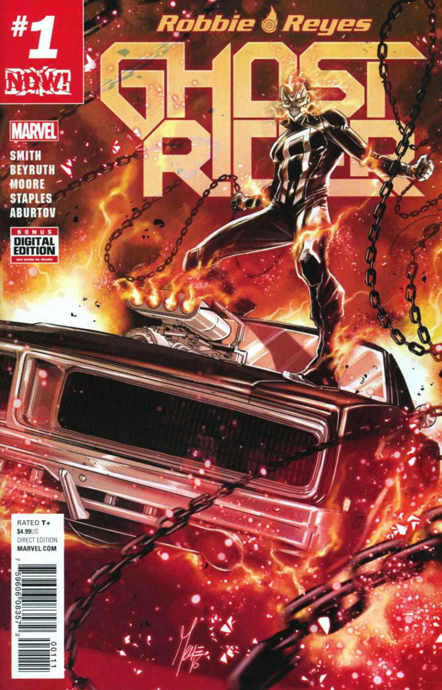 Ghost Rider Vol 7 #1 Cover A Regular Marco Checchetto Cover (Marvel Now Tie-In)