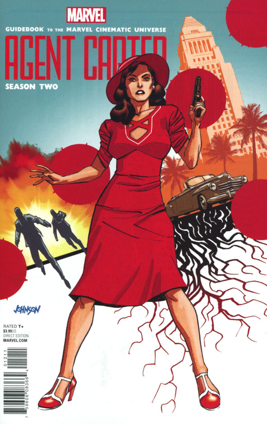 Guidebook To The Marvel Cinematic Universe Marvels Agents Of S.H.I.E.L.D. Season 3 / Marvels Agent Carter Season 2 #1