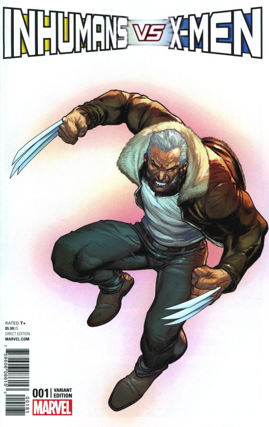 Inhumans vs X-Men #1 Cover D Variant Ardian Syaf X-Men Cover