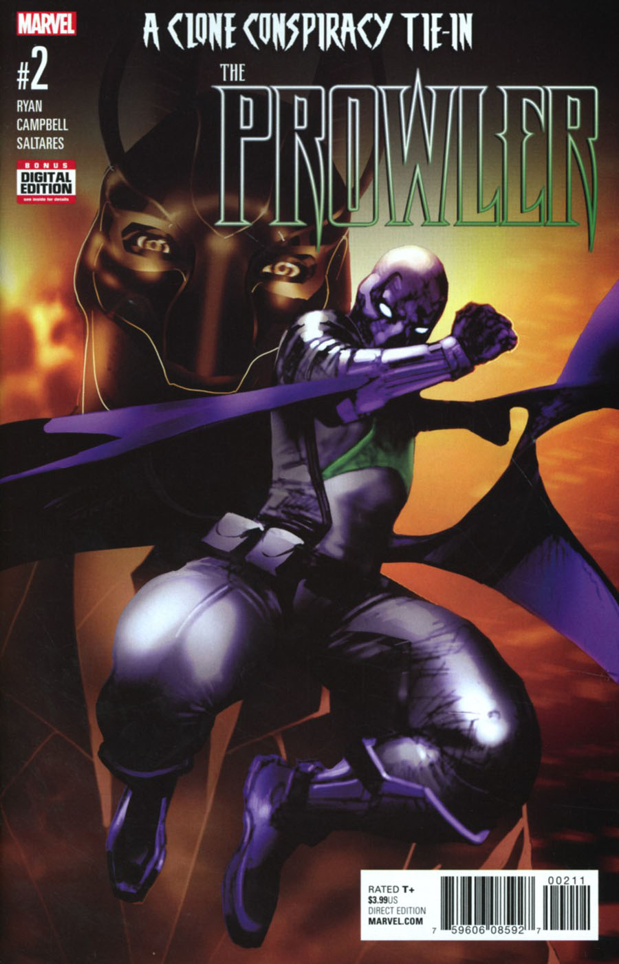 Prowler (Marvel) Vol 2 #2 Cover A Regular Travel Foreman Cover (Clone Conspiracy Tie-In)
