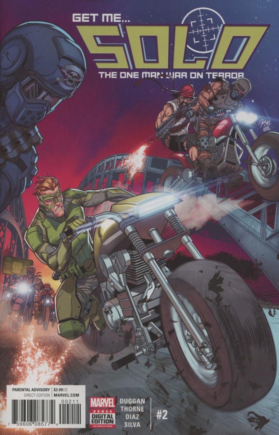 Solo (Marvel) Vol 2 #2 Cover A Regular Paco Diaz Cover