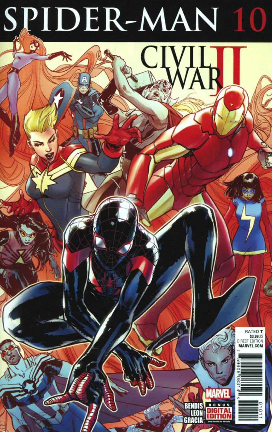 Spider-Man Vol 2 #10 Cover A Regular Sara Pichelli Cover
