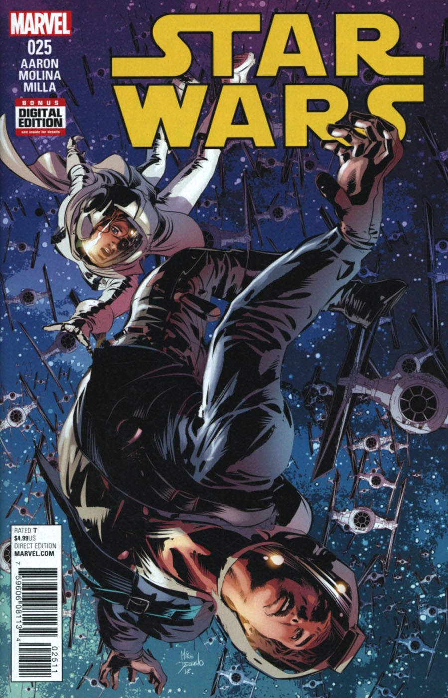 Star Wars Vol 4 #25 Cover A Regular Mike Deodato Jr Cover
