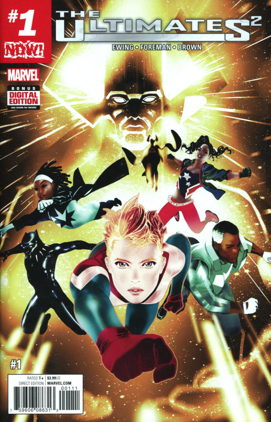 Ultimates (Squared) #1 Cover A 1st Ptg Regular Travel Foreman Cover (Marvel Now Tie-In)