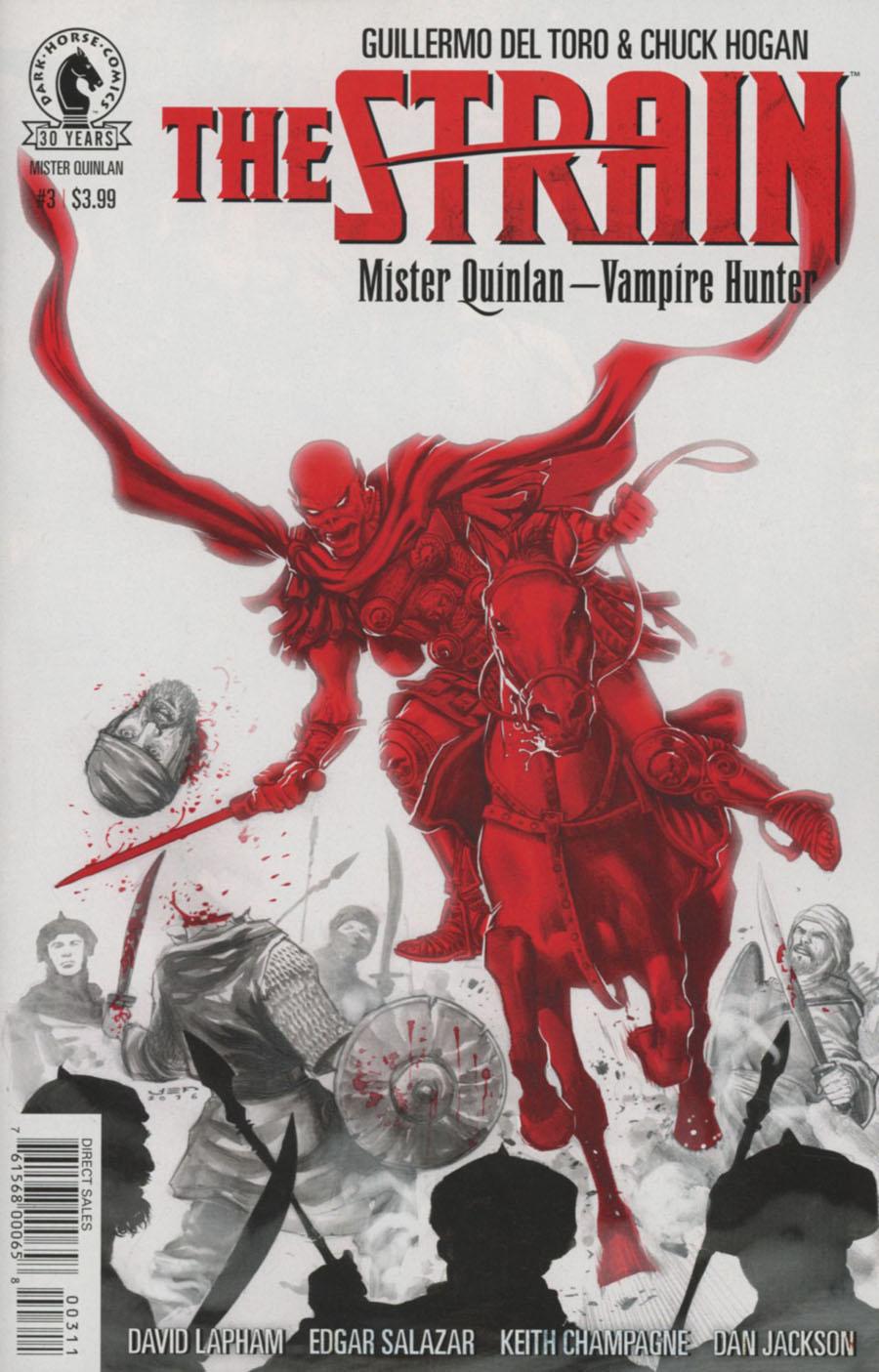 Strain Mr Quinlan Vampire Hunter #3