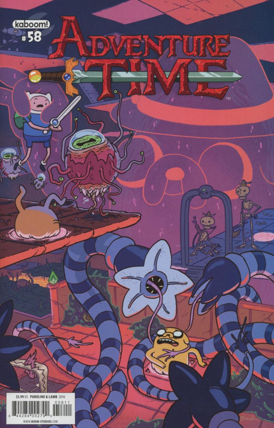 Adventure Time #58 Cover A Regular Braden Lamb Cover