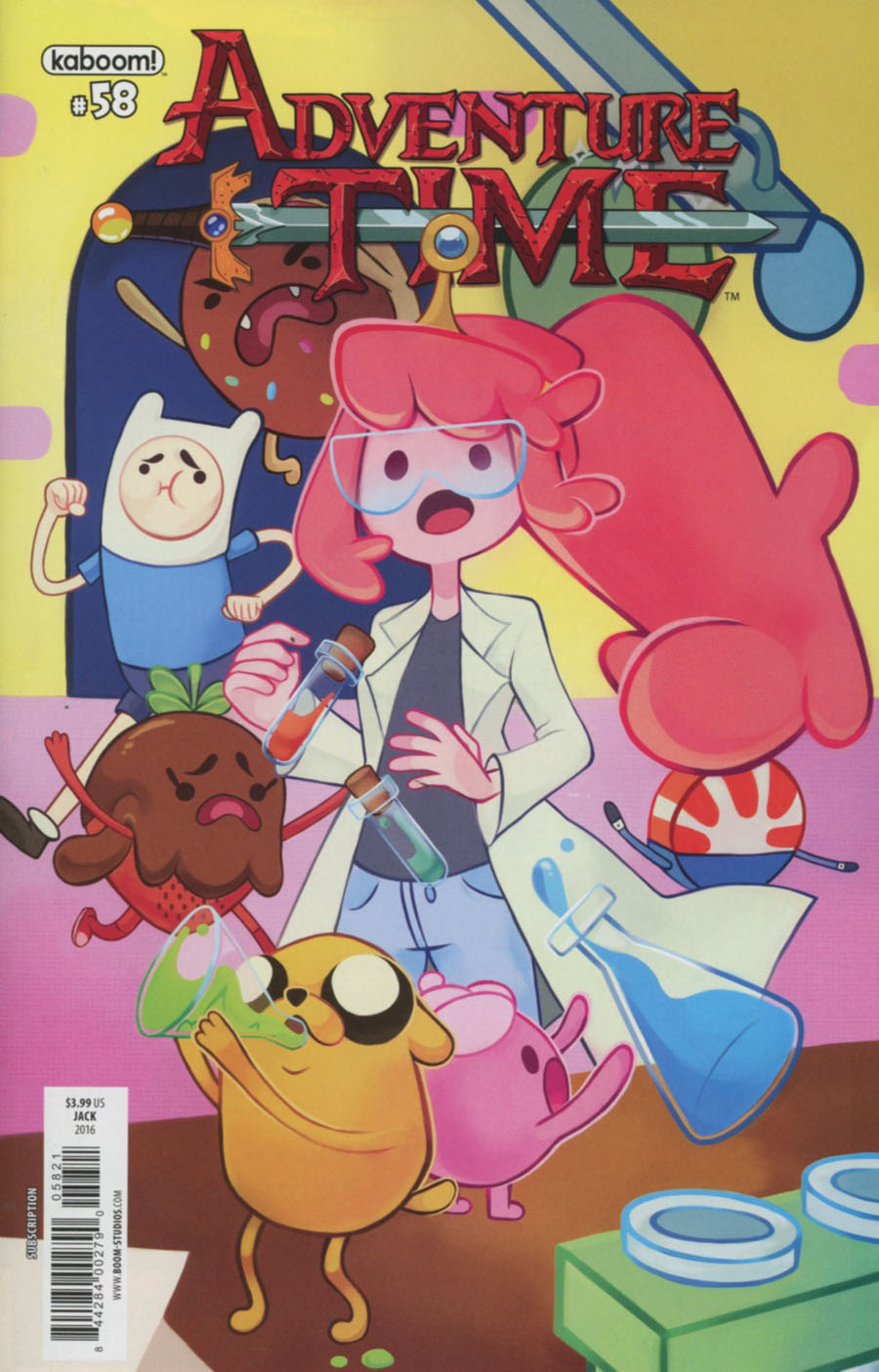 Adventure Time #58 Cover B Variant Emi Jack Subscription Cover