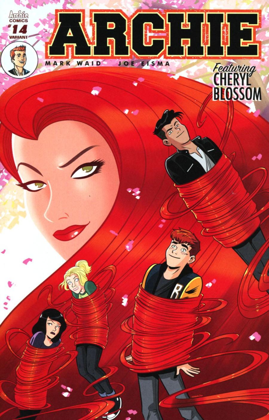 Archie Vol 2 #14 Cover B Variant Derek Charm Cover