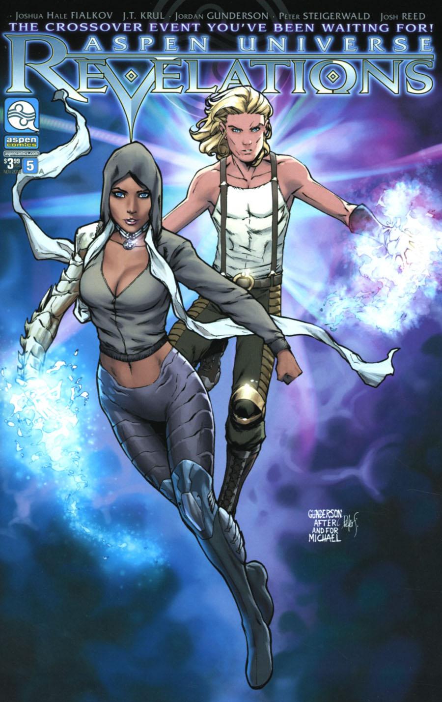 Aspen Universe Revelations #5 Cover A Regular Jordan Gunderson Cover